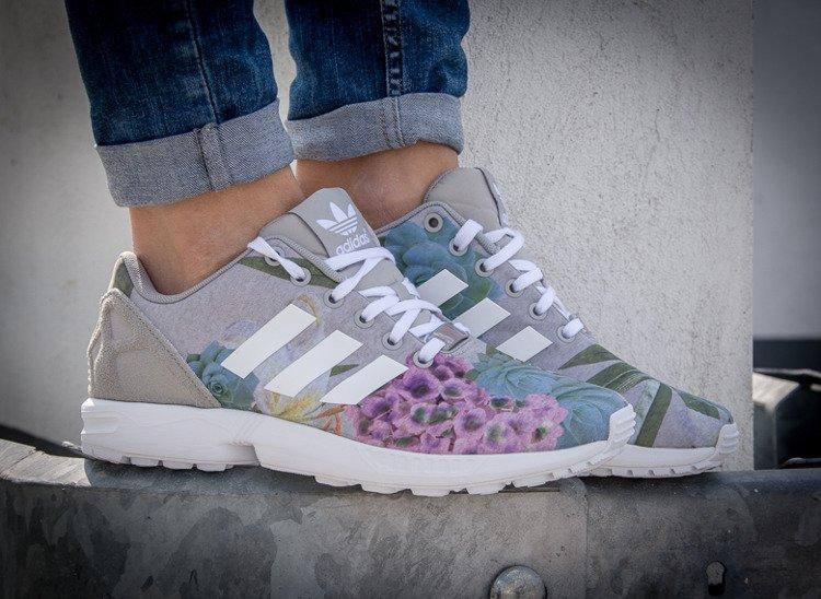 ADIDAS ZX FLUX W (AQ3067) Wielokolorowy | Womens \ Adidas | Kicks ...