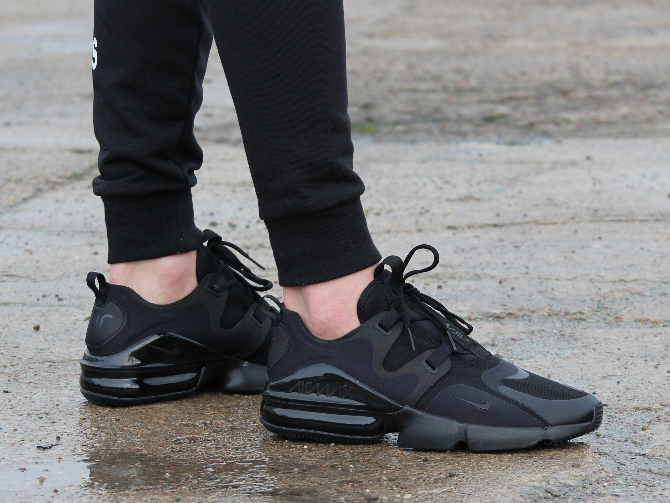 Nike - Air Max Infinity BQ3999-004 - Sneakers - Black   Mens ...