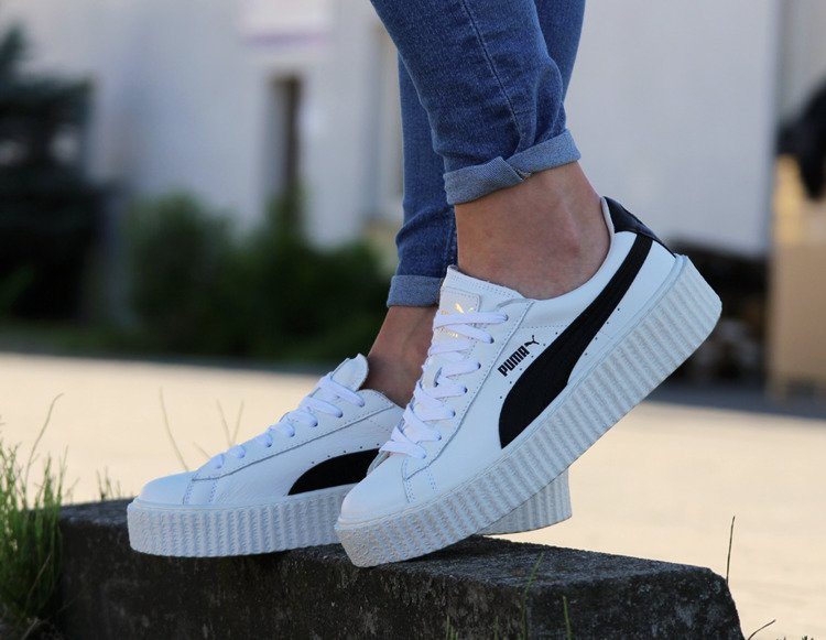 PUMA Creeper x Fenty by Rihanna White & Black (364462 01)