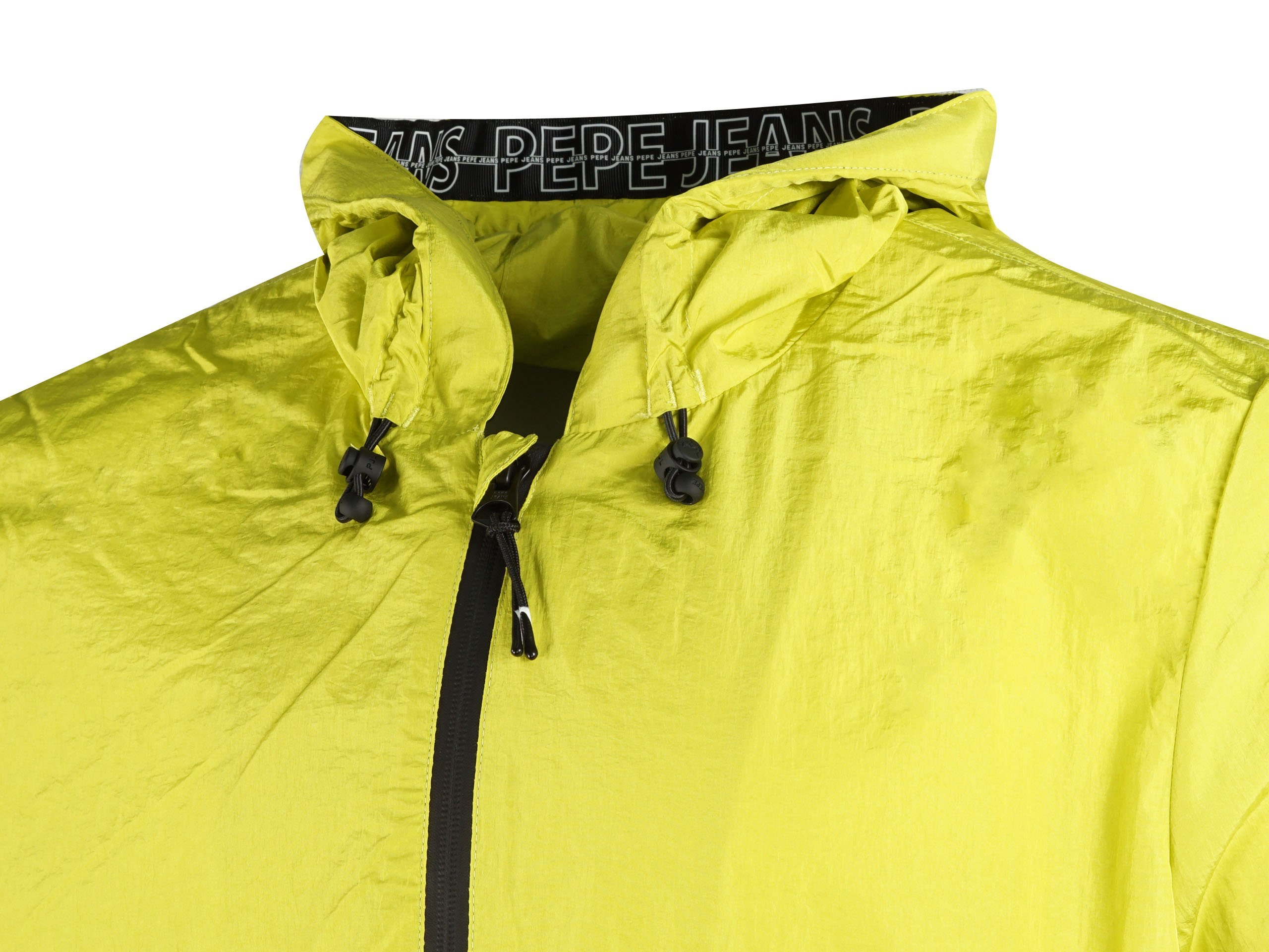 Pepe Jeans London Damascus Pm402054 020 Transition Jacket Lime Limonkowy Mens Pepe Jeans Kicks Sport A Trusted Supplier Of Branded Sports Footwear
