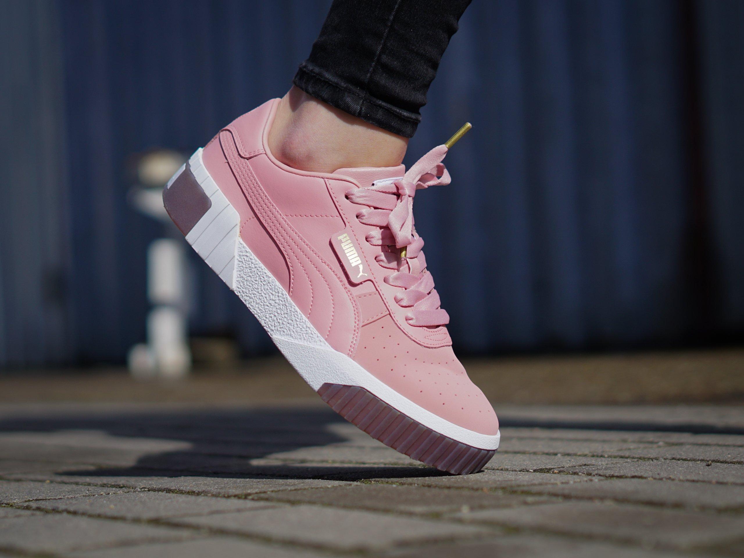 Puma - Cali Exotic Wn's Bridal Rose 369653-02 - Sneakers - Pink ...