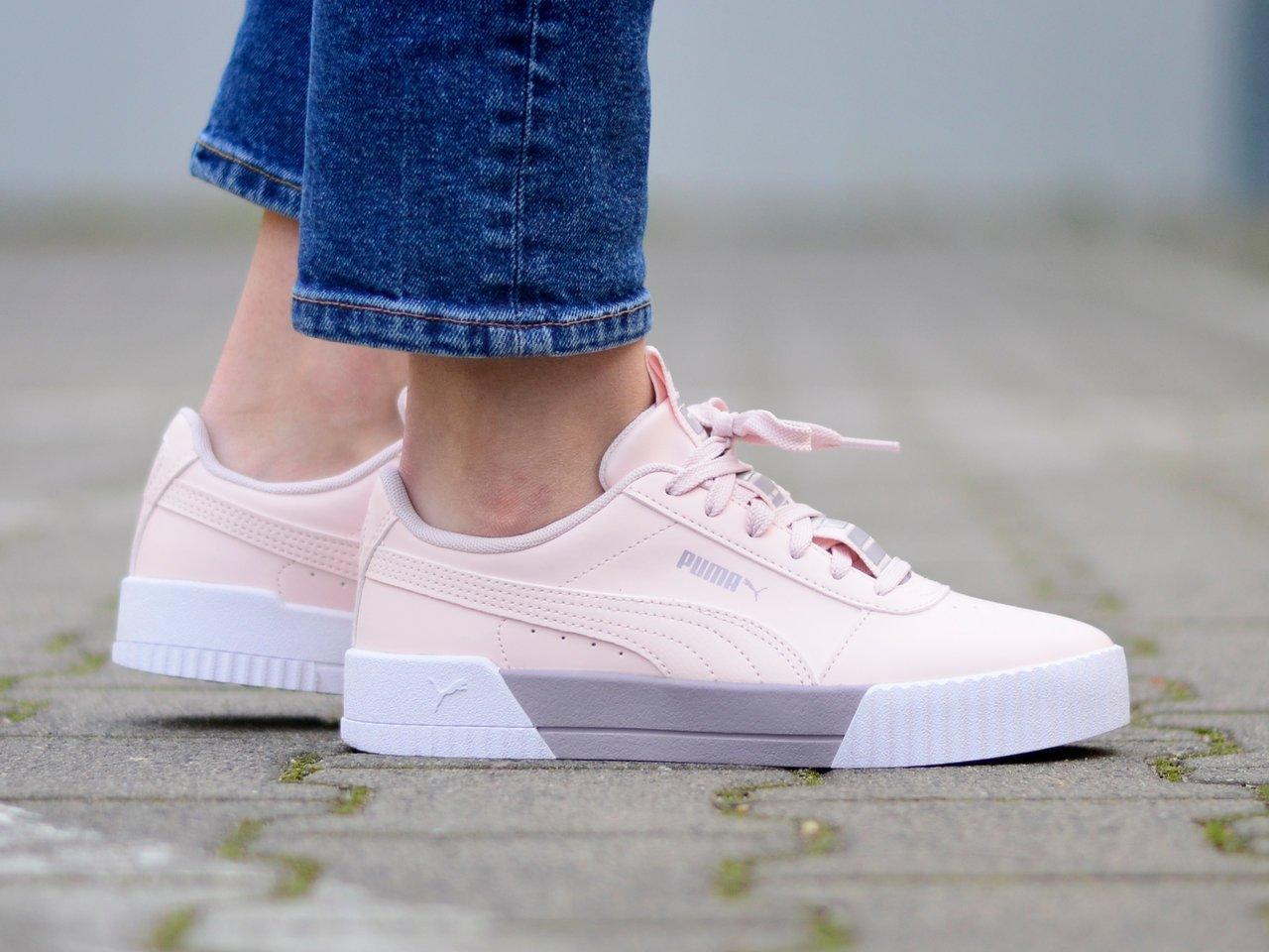 Puma - Carina Bold 372853-03 - Sneakers - Pink Różowy | Womens ...