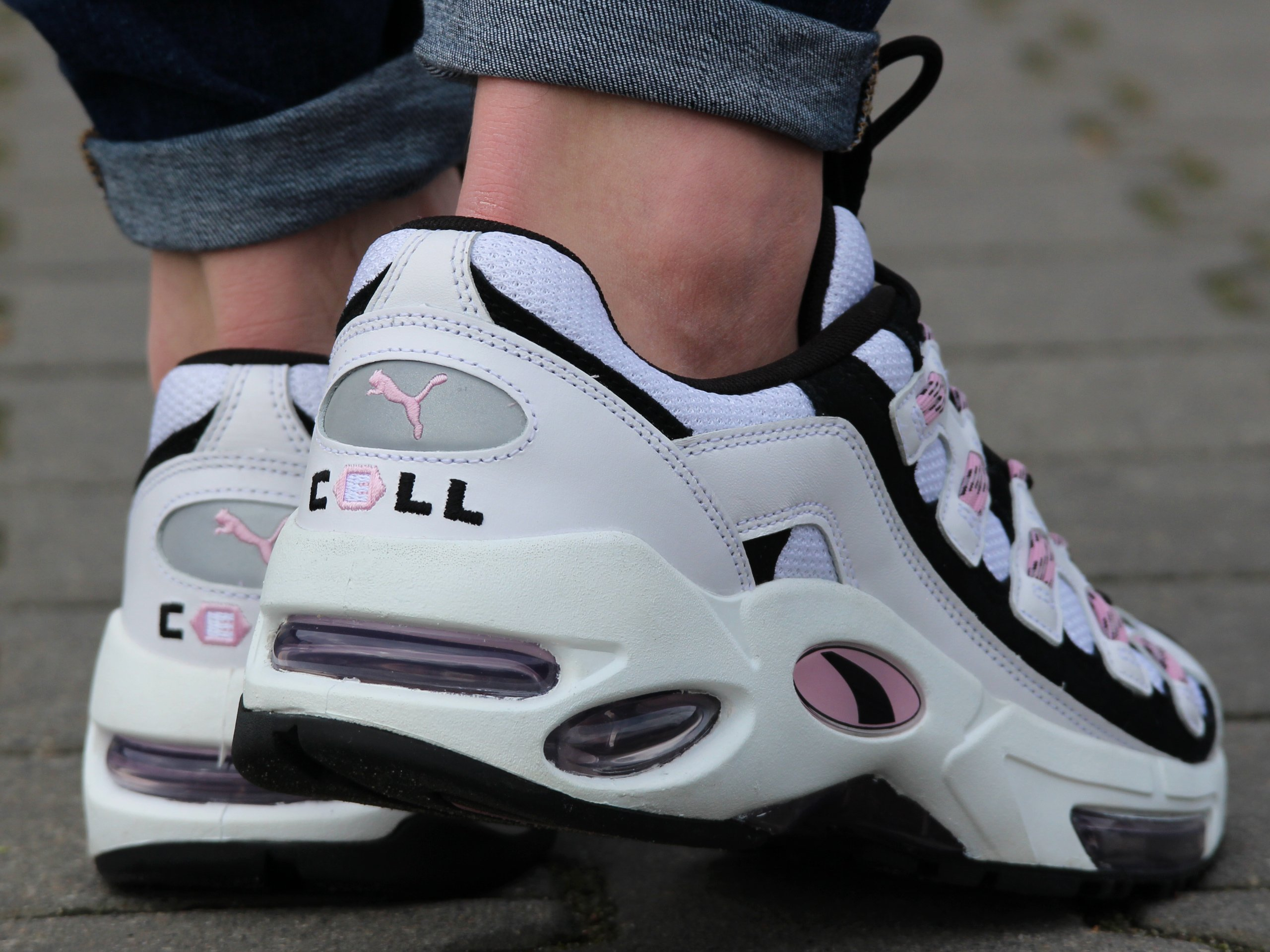 Puma - Cell Endura 369357-05 - Sneakers - White / Black / Pink ...