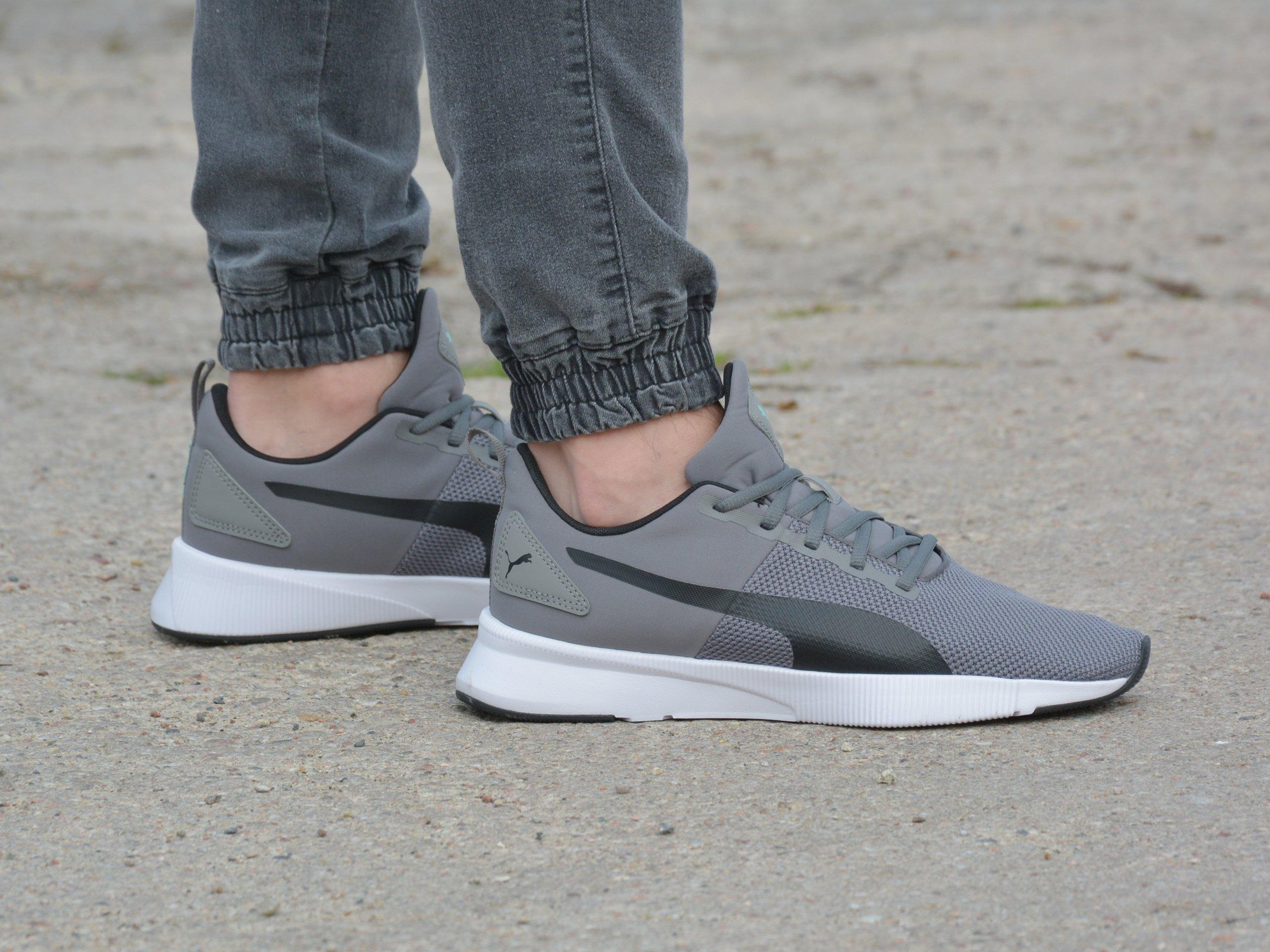 Puma - Flyer Runner 192257-10 - Sneakers - Grey | Mens \ Puma ...
