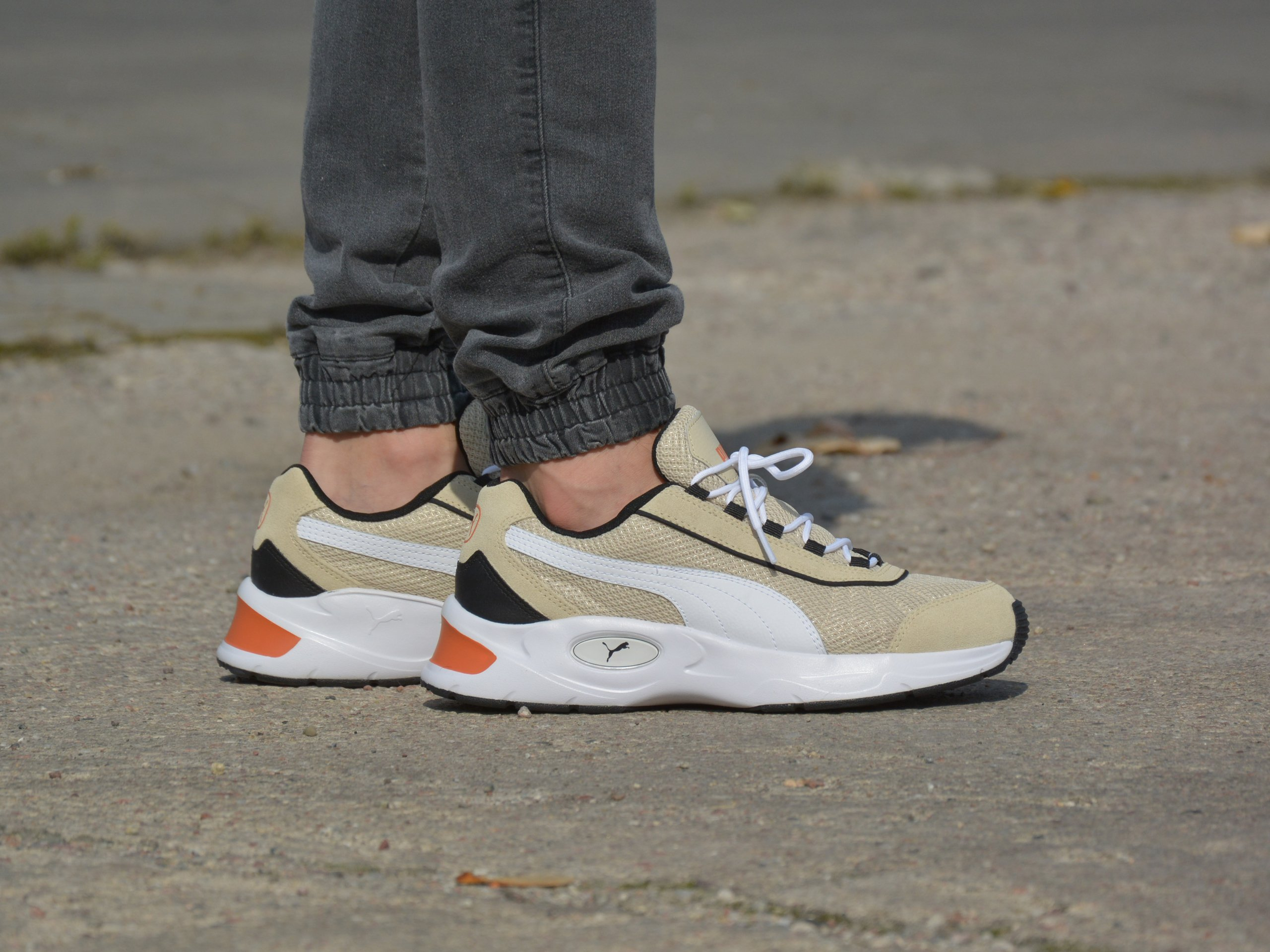 Puma - Nucleus Lux 370481-02 - Sneakers - White / Beige | Mens ...