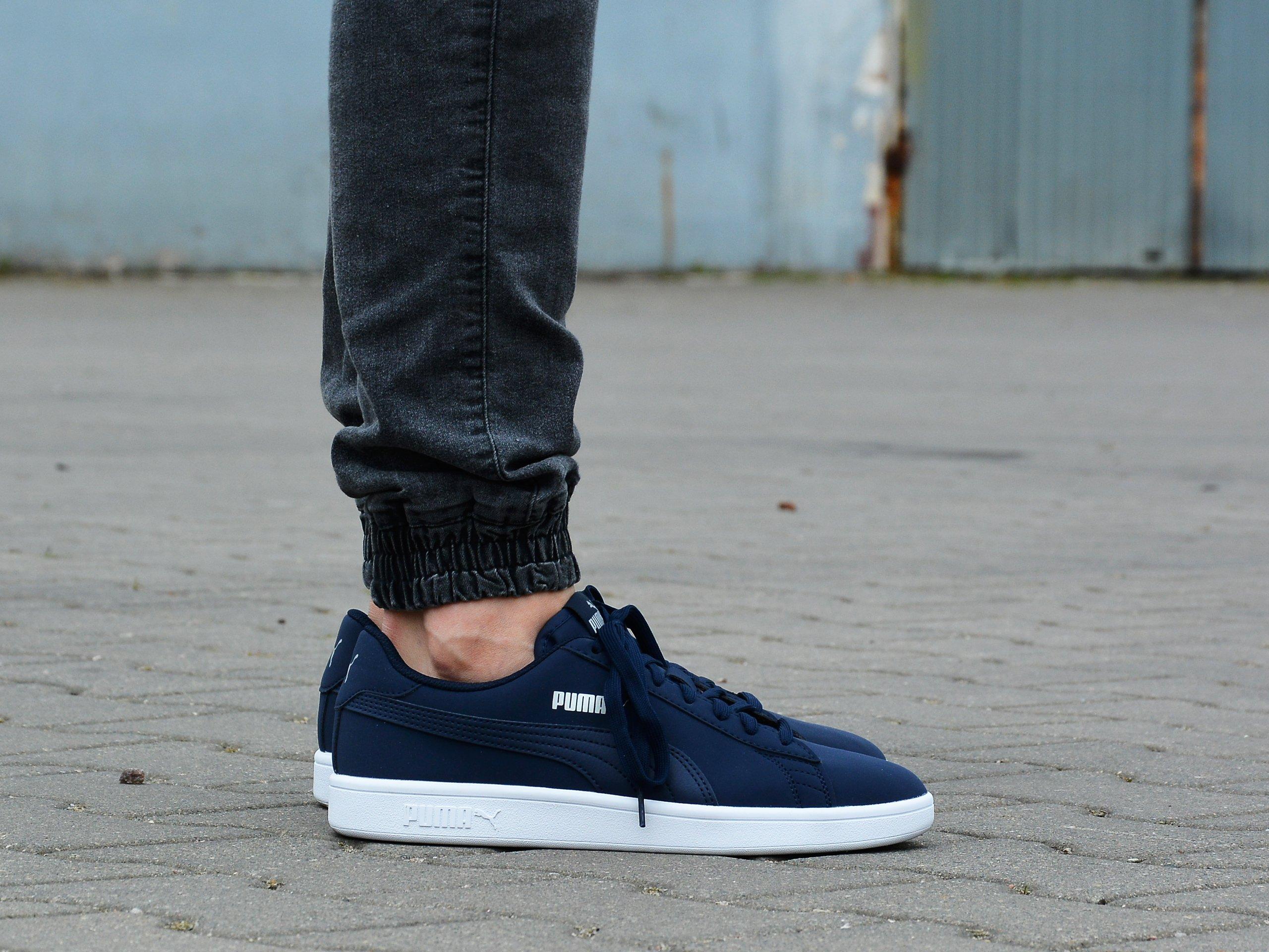 Puma - Smash v2 Buck 365160-15 - Sneakers - Navy   Mens \ Puma ...