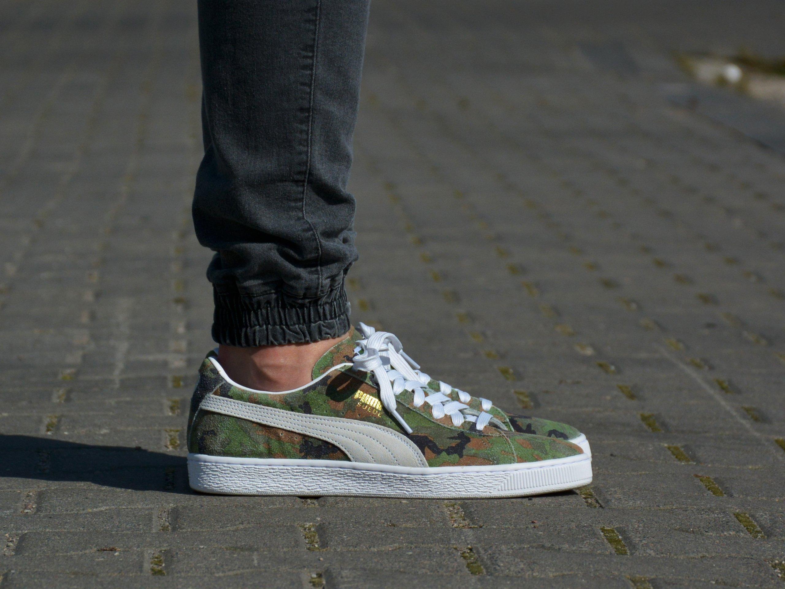 Puma - Suede Classic Ambush 369626-01 - Sneakers - Green / White ...