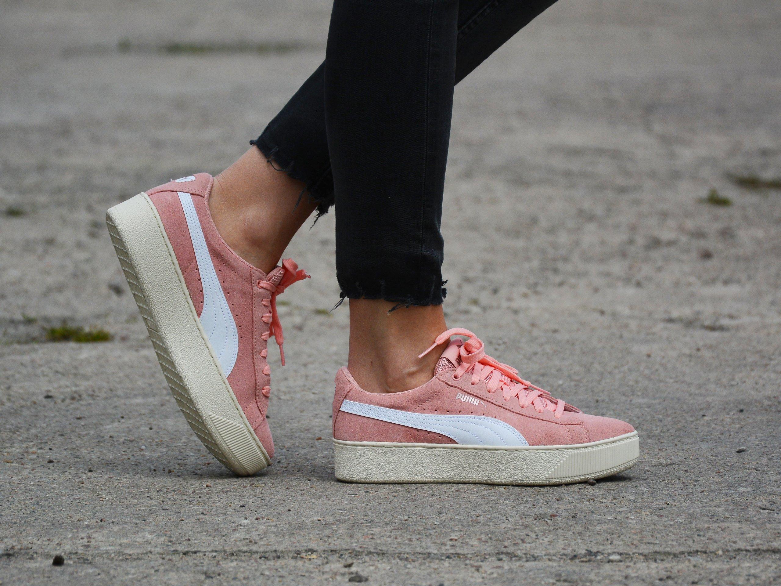 Puma - Vikky Platform SD 368012-03 - Sneakers - Pink | Womens ...