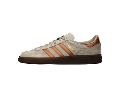 ADIDAS MUNCHEN TRAINERS - OFF GREY / BRONZE (CP8888)