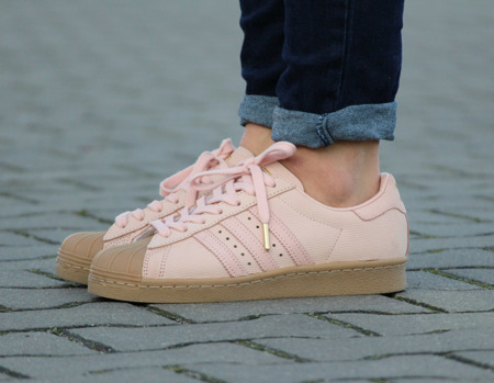 "ADIDAS SUPERSTAR 80'S ""PINK"" (BY9053)"