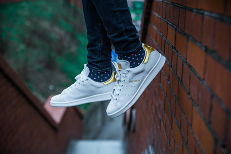 "BEST PRICE!  ADIDAS STAN SMITH ""999 GOLD LEAF"" (S80506)"