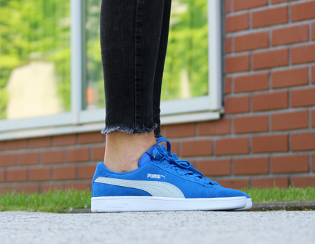 BEST PRICE! PUMA SMASH V2 SUEDE JR (365176-11)