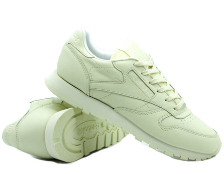 BEST PRICE! REEBOK CLASSIC LEATHER PASTELS WASHED YELLOW/WHITE (BD2772)
