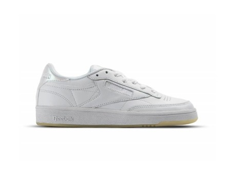 BEST PRICE! REEBOK CLUB C 85 LEATHER W WHITE WHITE ICE (BS5163)