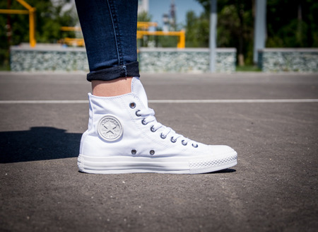 Converse White All Star  SP HI (1U646)