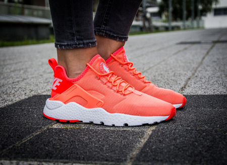 "NIKE AIR HUARACHE RUN ULTRA ""BRIGHT MANGO"" (819151-800)"