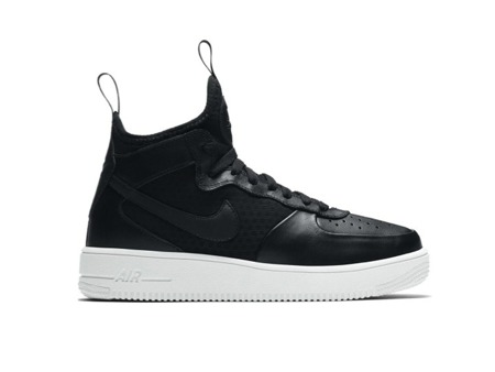 "NIKE AIR ULTRAFORCE 1MID ""BLACK"" (864025-001)"