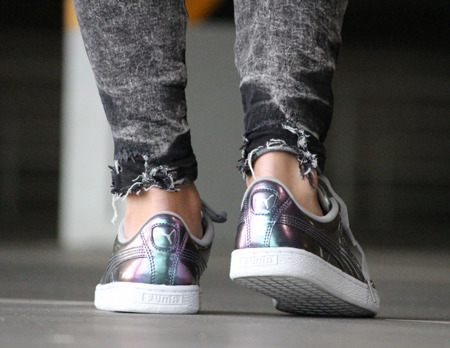 PUMA BASKET CLASSIC HOLO JUNIOR   (362468-03)