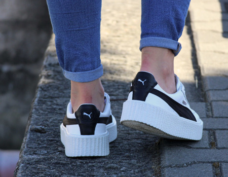 PUMA Creeper x Fenty by Rihanna White & Black (364462-01)