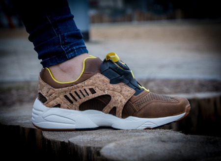 "PUMA LEATHER DISC CAGE ""CORK"" (356410-02)"