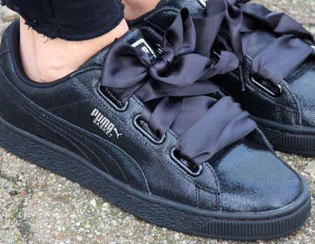 PUMA WMNS BASKET HEART NIGHT SKY (364108-01)