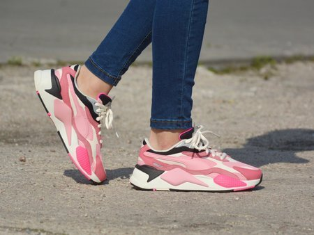 Puma - Puzzle RS-X3 371570-06 - Sneakers - Pink / Black