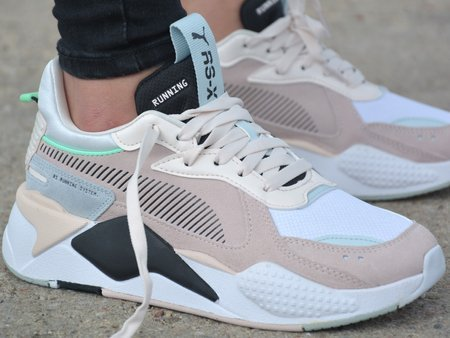 Puma - RS-X Reinvent 371008-04 - Sneakers - White / Beige / Black