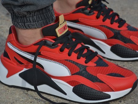 Puma - RS-X3 CNY 373178-01 - Sneakers - Red / Black / White