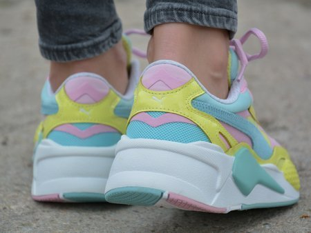 Puma - RS-X3 Plastic 371569-05 - Sneakers - Blue / Pink / Yellow