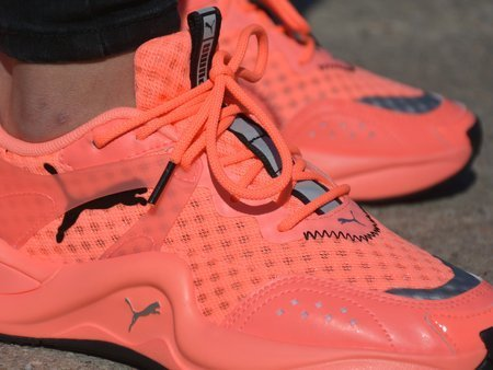 Puma - Rise Neon 372444-02 - Sneakers - Coral