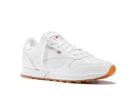 "REEBOK CLASSIC LEATHER  ""WHITE/GUM"" (49803)"