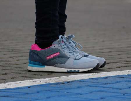 REEBOK GL 6000 OUT-COLOR GREY/BLUE WOMEN (BD1579)