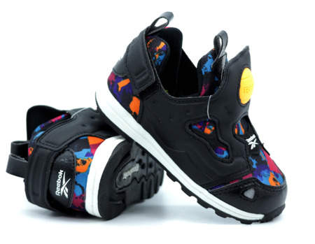 REEBOK VERSA PUMP FURY SYN AR Black/White Kids (BD4471)