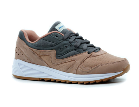 "SAUCONY GRID 8000 ""SALMON/CHARCOAL"" (S70303-3)"